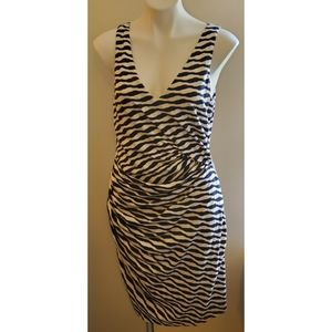 41Hawthorn Ernesto striped fitted dress